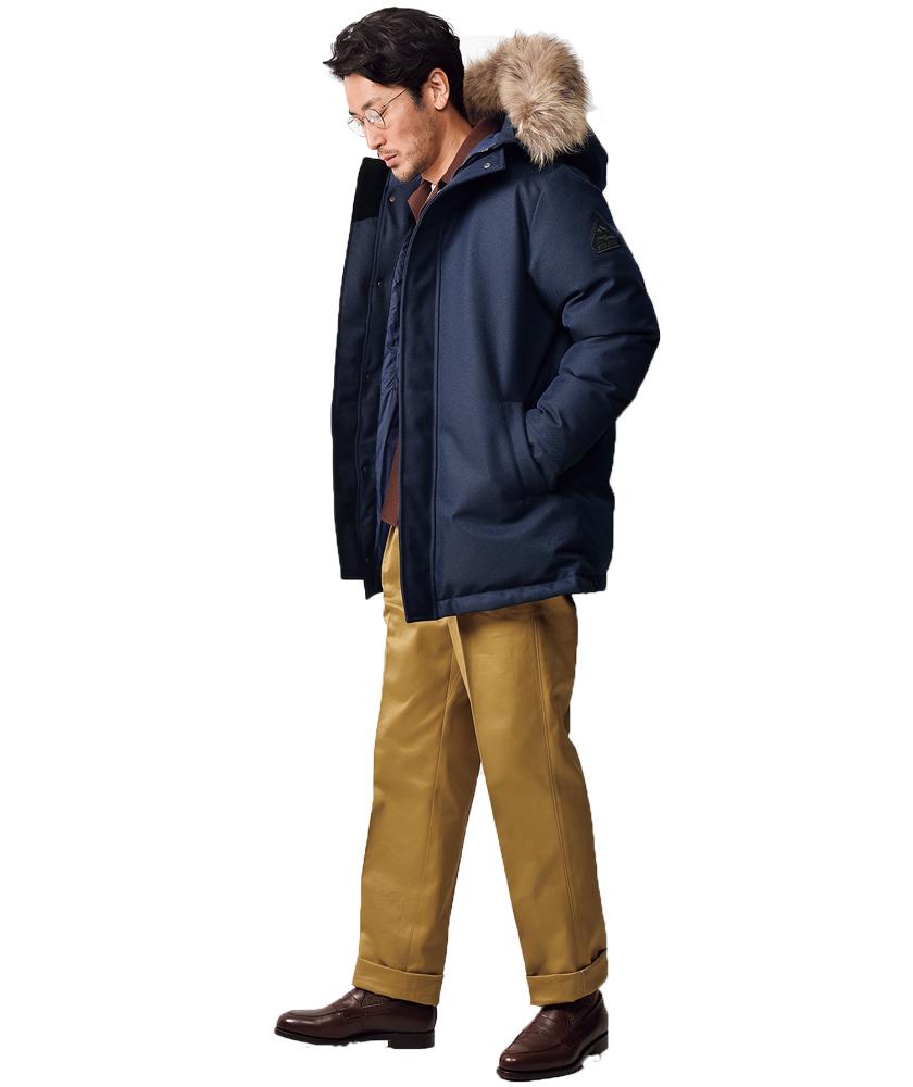 ピレネックスのアヌシージャケット モデル着用