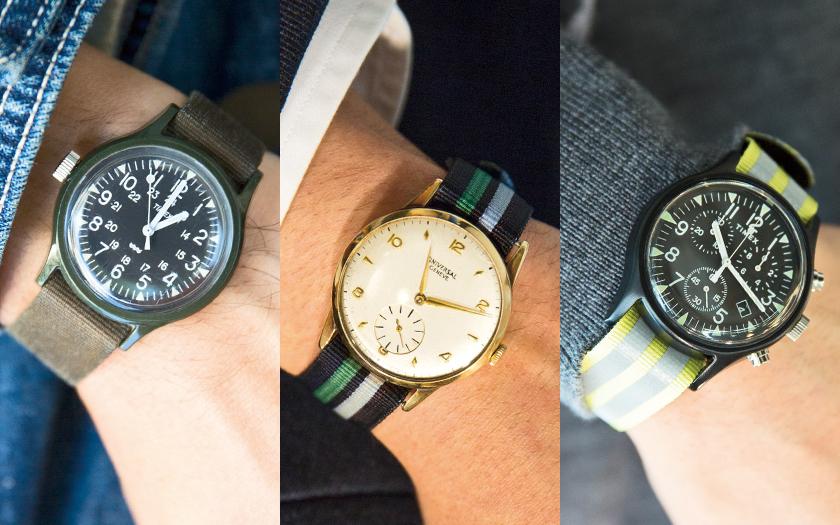 ビームスのスタッフ愛用時計