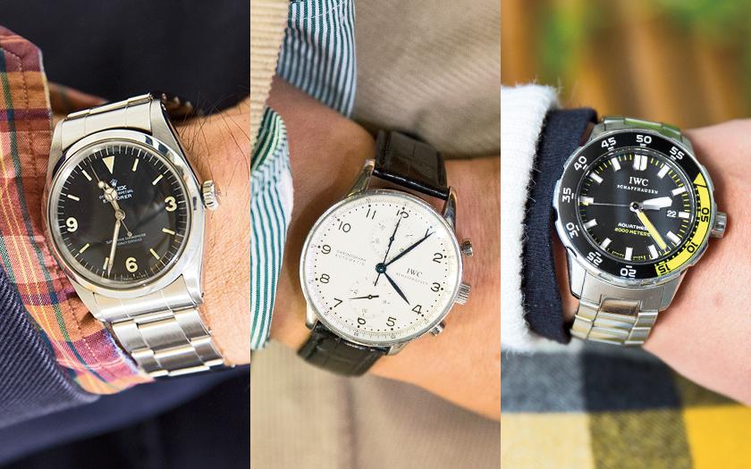 ショップスタッフの時計 人気 ブランド
