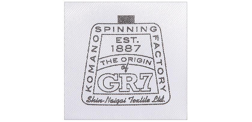 日本初のグレー杢「GR7」は優しい霜降り感が特徴♪