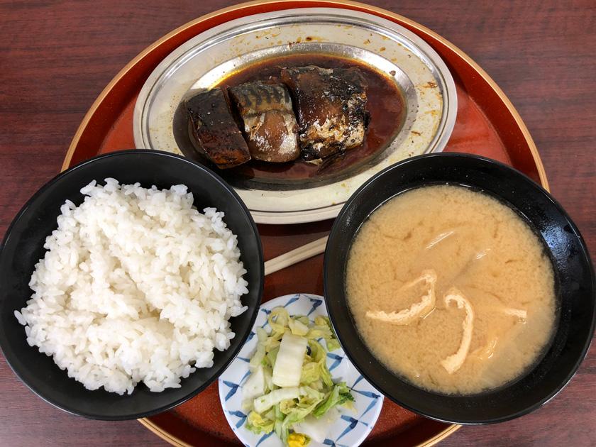 京都 今井食堂のさば煮定食