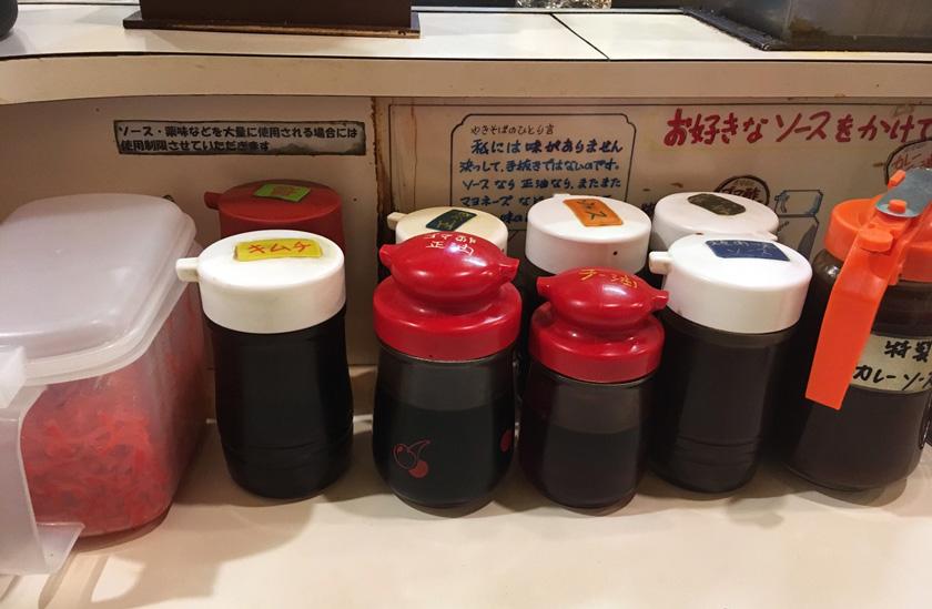 北海道 札幌のやきそば屋のソース