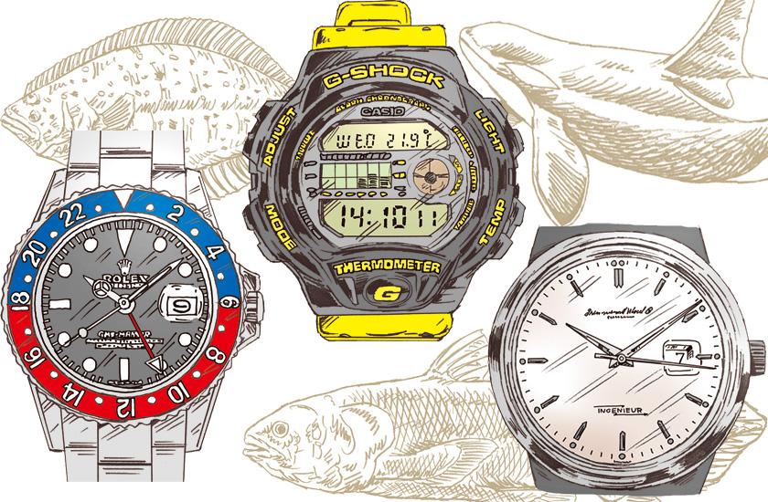 ぎょ! ギョ! 魚! 海の生物に喩えられたアンティーク腕時計用語集