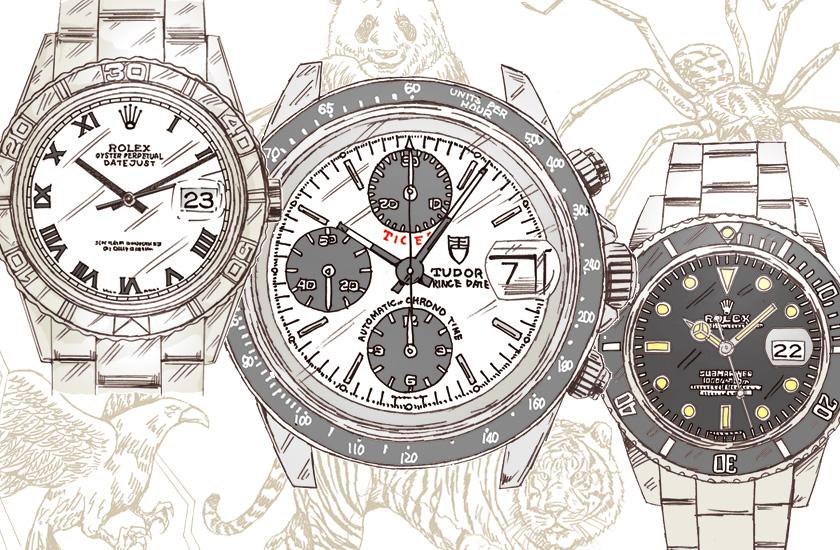 f994336bb1 あの時計に希少!?ないきものが!? アンティーク腕時計用語いきもの図鑑 ...
