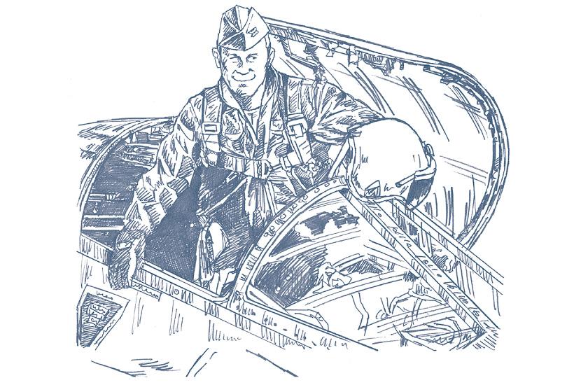 1947年に世界で初めて超音速飛行を実現したチャック・イエーガー