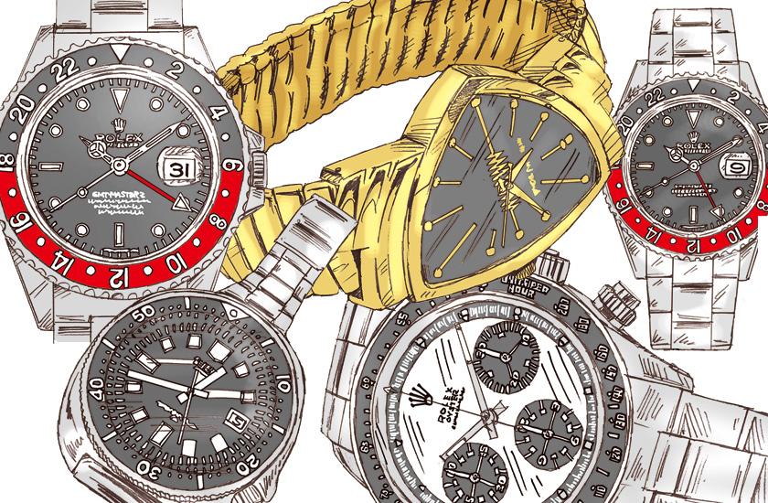 アンティーク腕時計には、すぐれた業績を成し遂げた人達の名前がつくこともある!