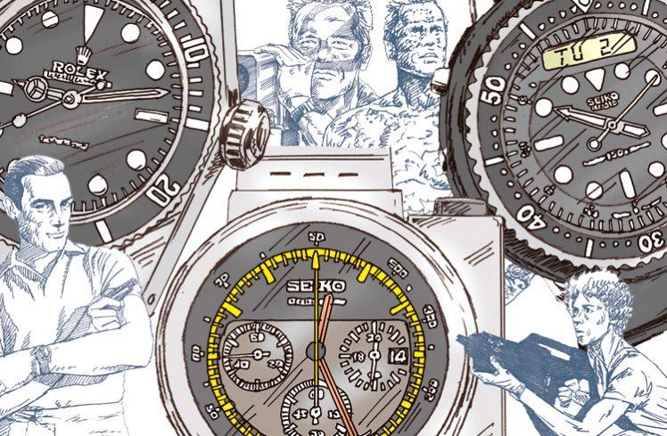"""a136e8cc1a いやぁ、""""時計""""って本当にいいもんですね~♡ あの名作にも登場していた腕時計って?"""