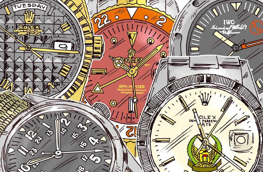所変わればモデルも変わる。世界アンティーク腕時計の用語集