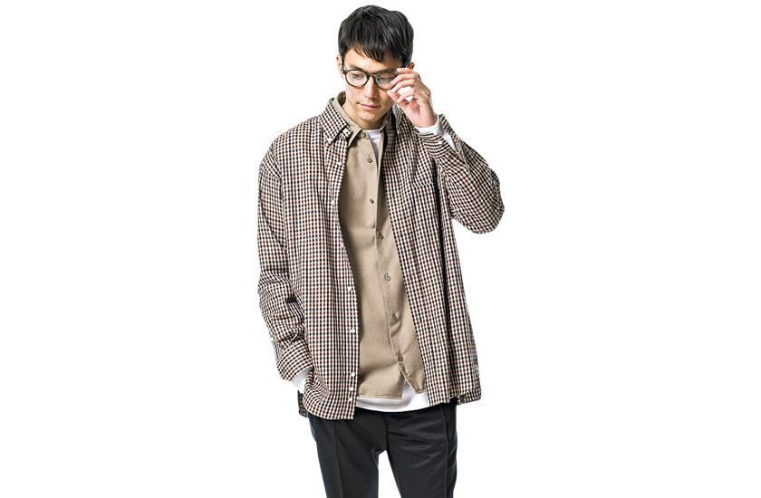 コセイのシャツ&アンデコレイテッド マンのシャツ