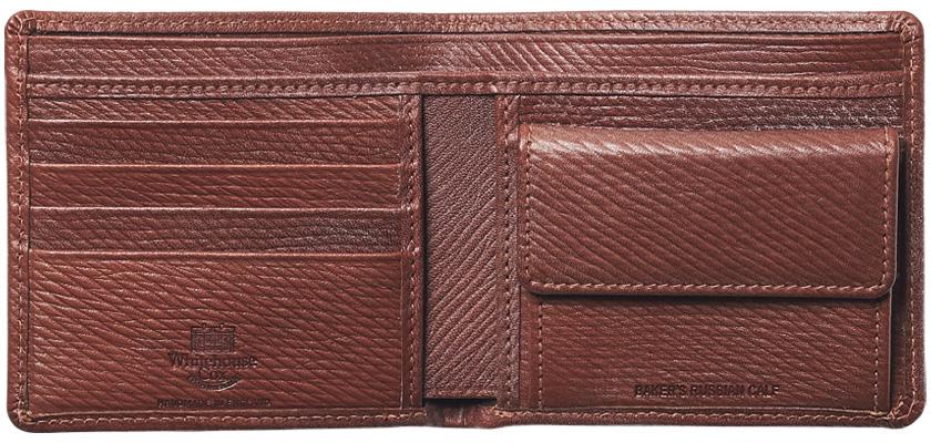 WHITEHOUSE COX ホワイトハウスコックスのベイカーズ・ロシアンカーフシリーズ 2つ折り財布