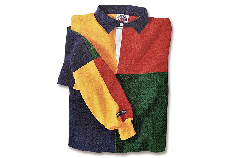 バーバリアン カラーブロック長袖シャツ 商品画像