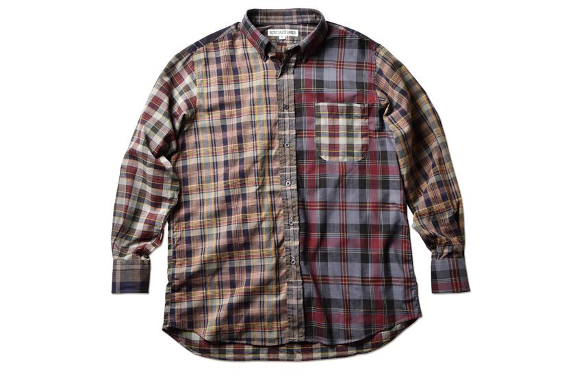 インディビジュアライズドシャツ×ロフトマンB.D.のクラシックフィット