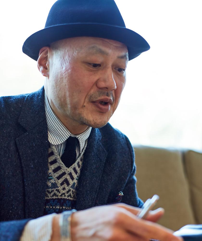 ビームス プラス 原宿ショップスタッフ 丹羽さん