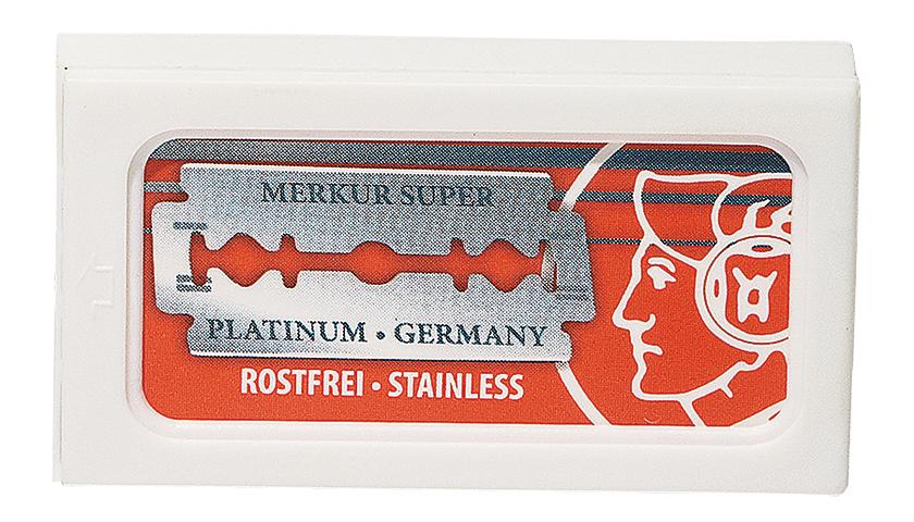 MERKUR メルクールの両刃ホルダー 替刃