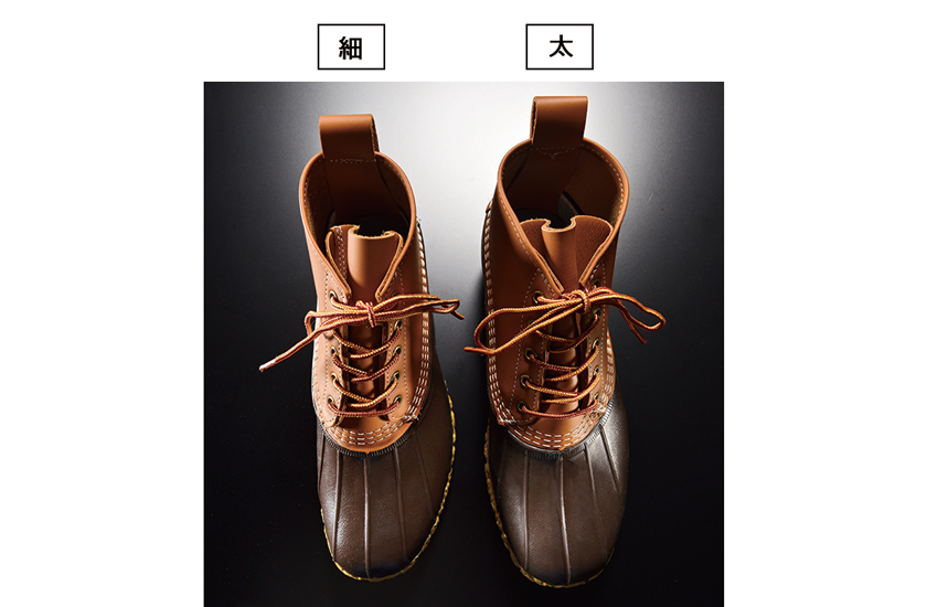 エル・エル・ビーン レディース・ビーン・ブーツ6' メンズとの比較写真