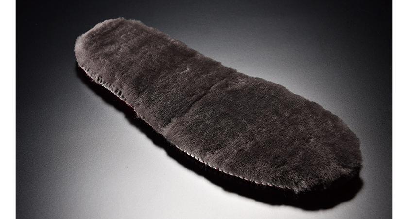 シアリング・インソール 羊毛(表面)