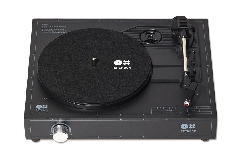 スピンボックス DIYレコードプレーヤーキット 商品画像