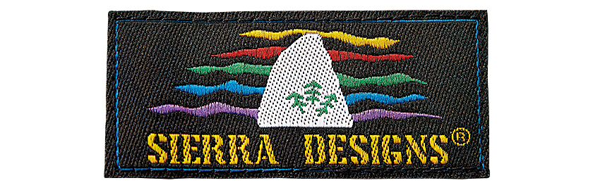 SIERRA DESIGNS シエラデザインズのマイクロライトジャケット MC レインボータグ