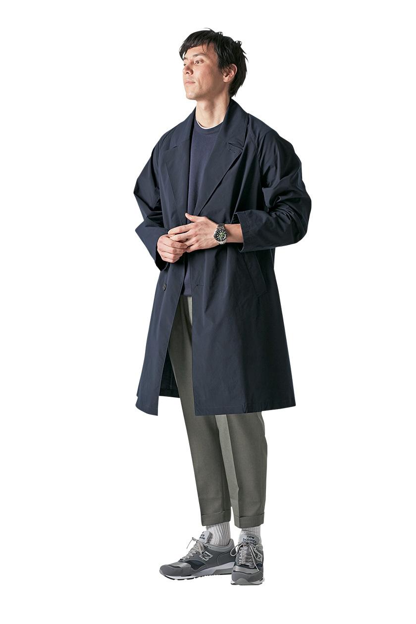 SEIKO PROSPEX セイコープロスペックス 通称ファーストダイバーズは春らしいコートスタイルにハマる