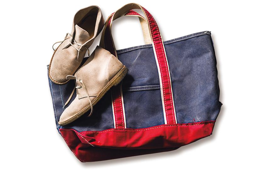 キャプテンサンシャイン デザイナー児島さん私物 Clarks Originals/クラークス オリジナルズ デザートブーツ L.L.Bean/エルエルビーン トートバッグ 商品画像