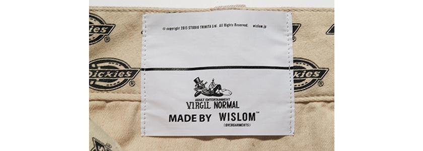 DICKIES ディッキーズ×ヴァージル ノーマル×ウィズロムの874 商品タグ