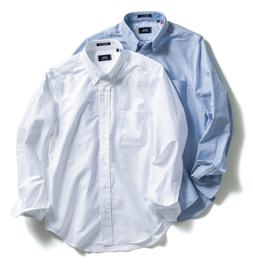 SHIPS(シップス)アイクベーハー製オリジナルBDシャツ