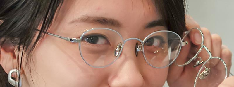 眼鏡女子と眼鏡選び