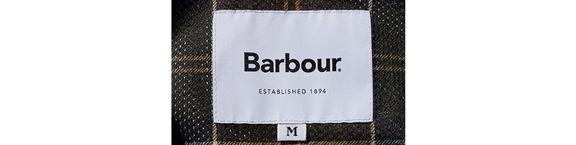 Barbour バブアーのロゴ