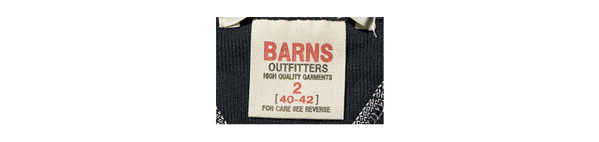 BARNS OUTFITTERS バーンズアウトフィッターズロゴ