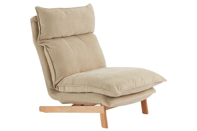 無印良品のハイバックリクライニングソファ