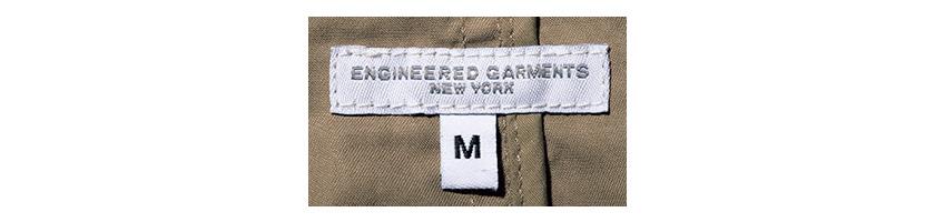 ENGINEERED GARMENTS エンジニアド ガーメンツ ロゴ