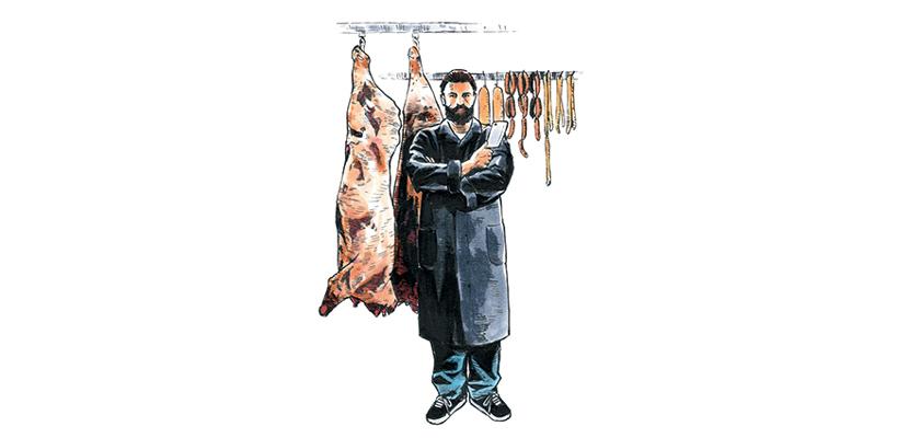 英国のお肉屋さん