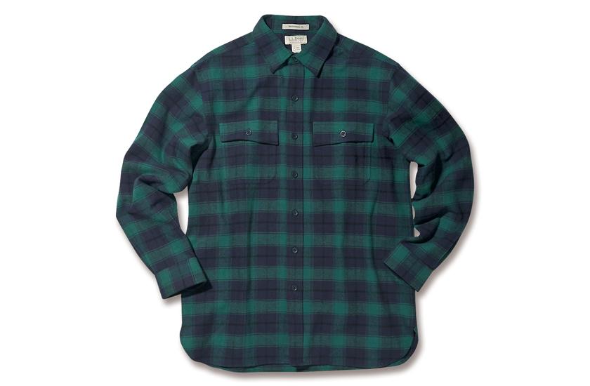 L.L.Bean エル・エル・ビーンのシャミー・クロス・シャツ 商品