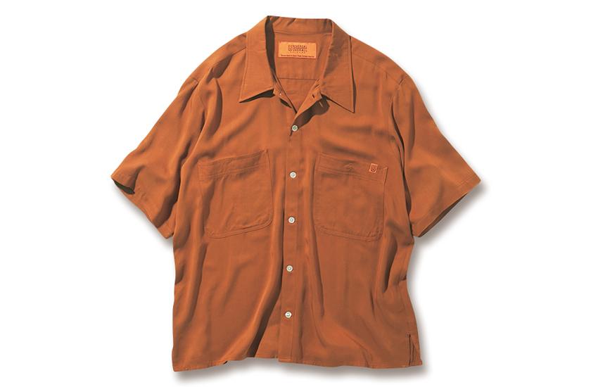 UNIVERSAL OVERALL ユニバーサルオーバーオールのオープンカラーシャツ 商品