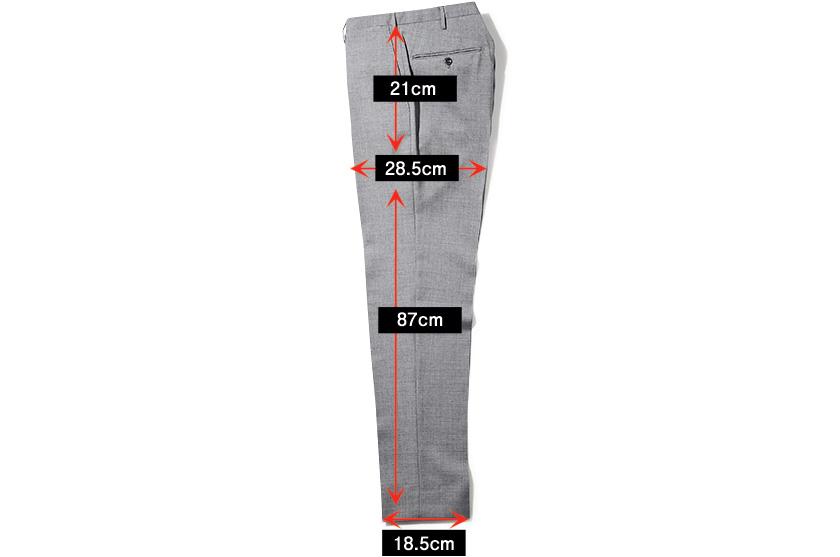 INCOTEX インコテックス パンツ スリムフィット サイズ