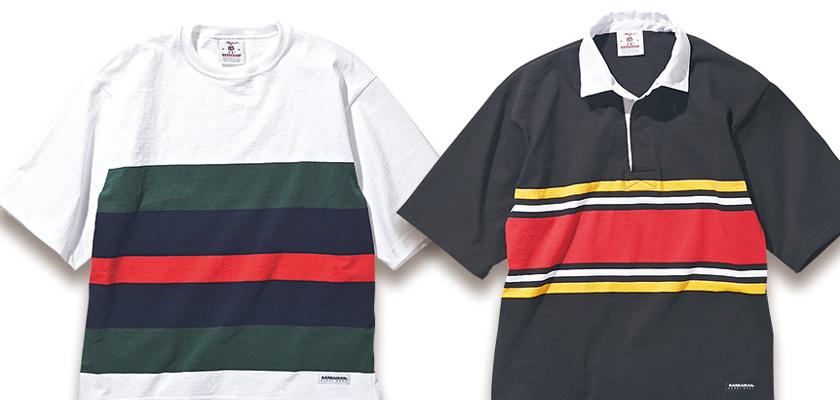 バーバリアン×ハイ!スタンダードのラガーシャツ&Tシャツ