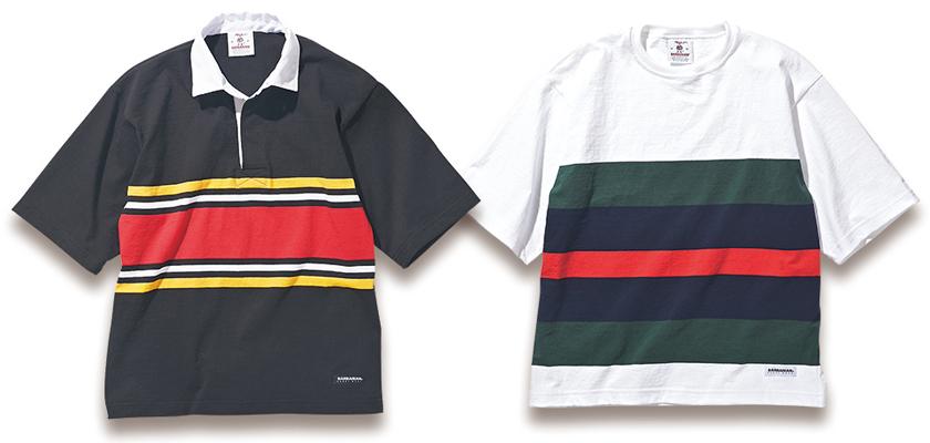 BARBARIAN × HIGH!STANDARD バーバリアン×ハイ!スタンダードのラガーシャツ&Tシャツ