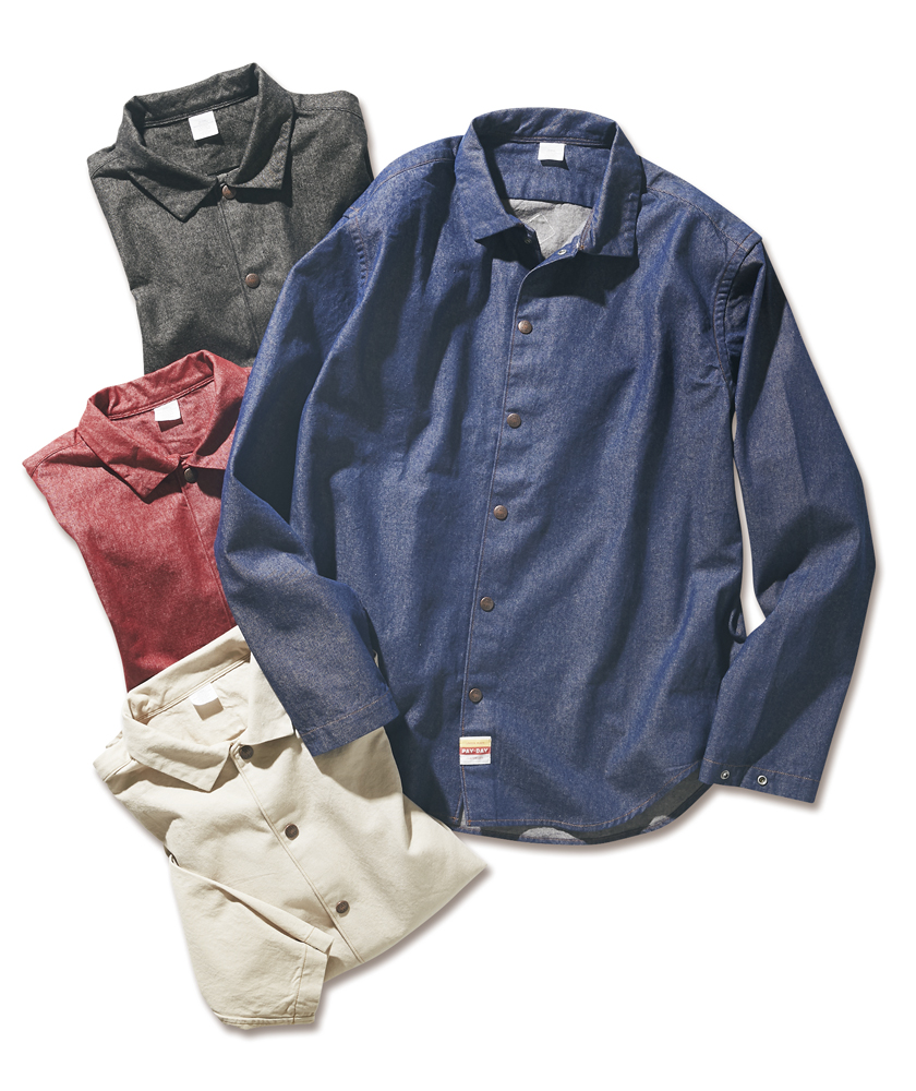 PAY DAY × JOURNAL STANDARD ペイデイ×ジャーナル スタンダードのスナップジャケット 商品