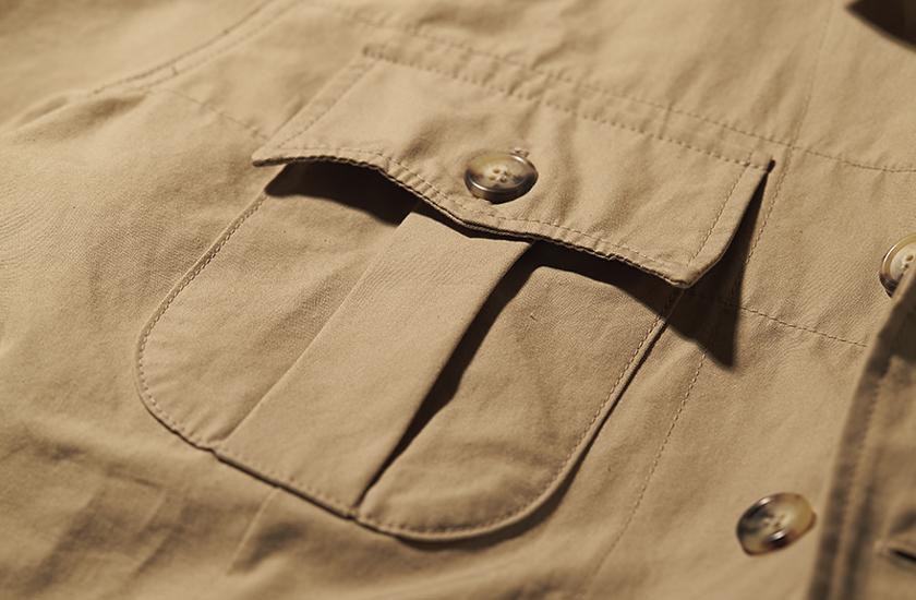 ウィリス&ガイガー×ビームス プラスのオーストラリアンブッシュジャケット 商品詳細