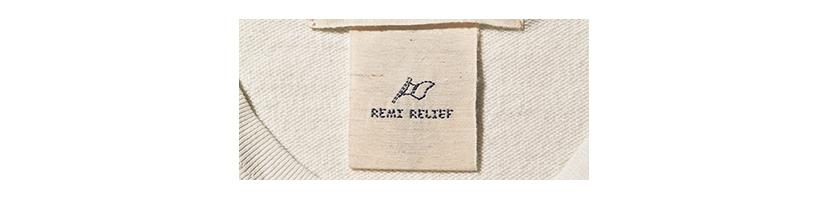 REMI RELIEF レミ レリーフ ロゴ
