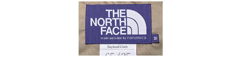 THE NORTH FACE PURPLE LABELザ・ノース・フェイス パープルレーベル ロゴ