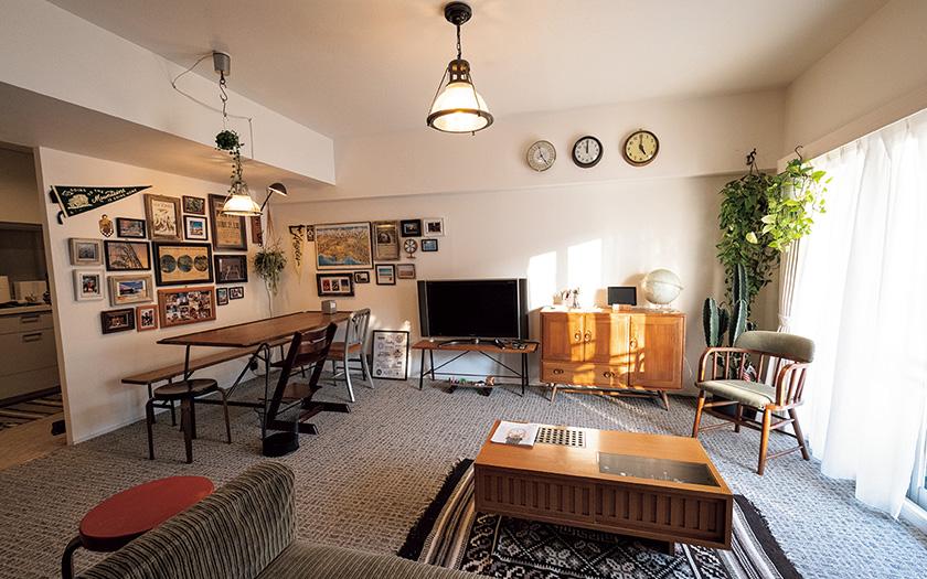 ACME Furniture デザイナー 樋口さんの部屋