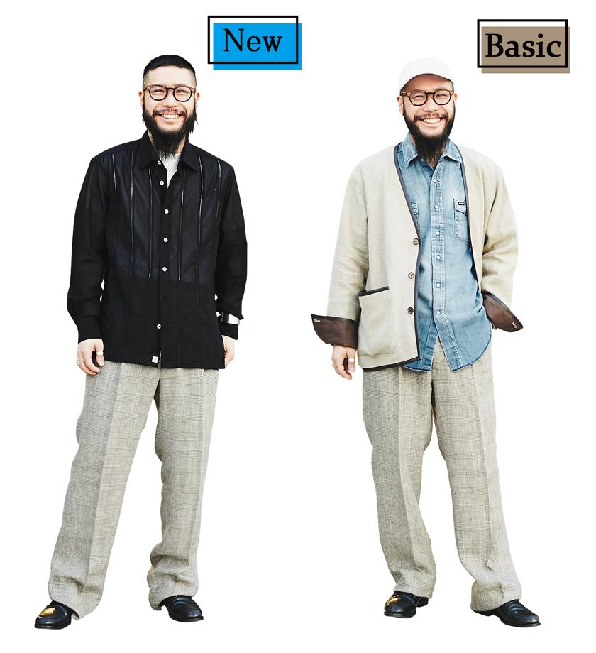 レショップ 和田翔太郎さん ベルナール ザンスのパンツ着用