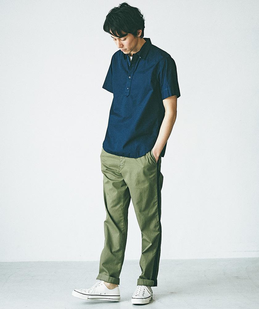 SAVE KHAKI UNITED 半袖シャツ モデル