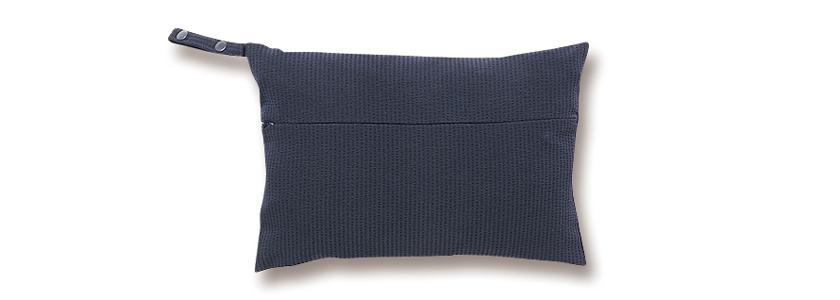 ベーセーストックのセットアップ 共布の収納バッグ