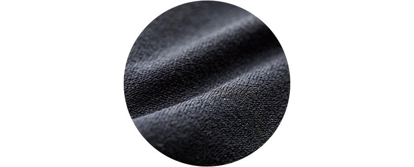 コットンライクのポリエステル素材