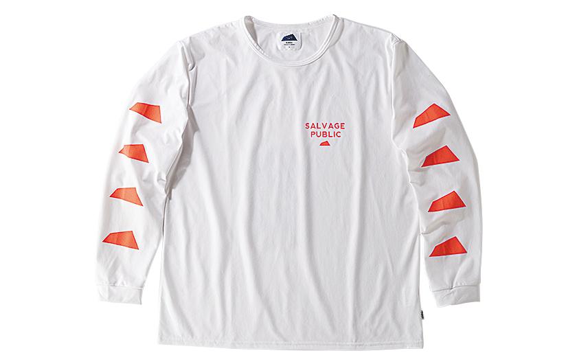 SALVAGE PUBLIC×OSHMAN'S サルベージ パブリック×オッシュマンズのロングTシャツ
