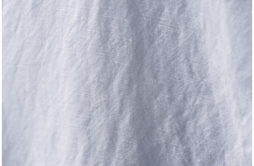 プラステのリヨセルリネン長袖シャツの生地