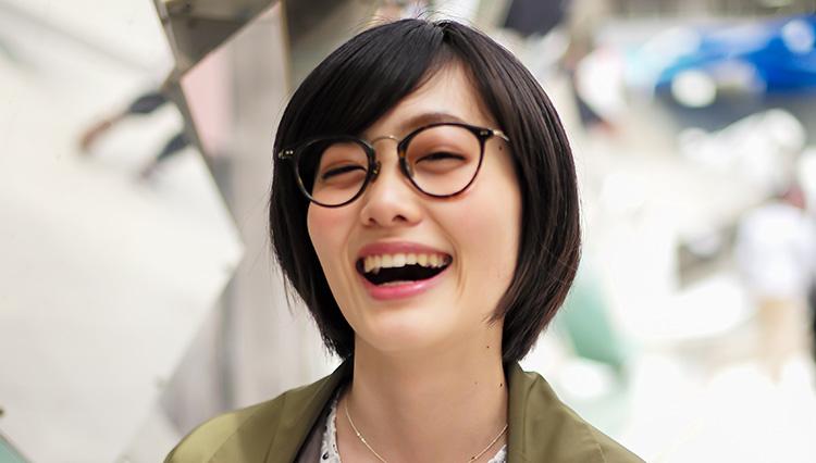 眼鏡女子と眼鏡選び~あのコのアイウェアが知りたい