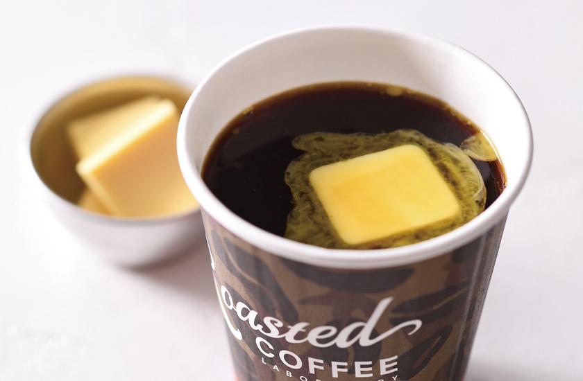 ローステッド コーヒー ラボラトリー グラスフェットバターコーヒー
